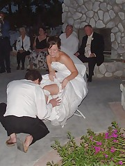 A bride in this action pictures