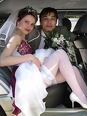 Images of Teen Bride Spreading