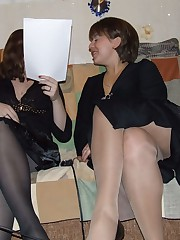 pantyhose no panties up skirt pics
