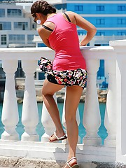 Beautiful upskirts easy cam spying