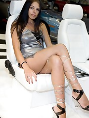 Up hot models skirts upskirt shot