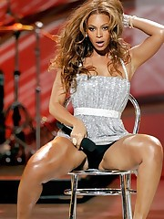 Super trimming Beyonce Knowles upskirt pantyhose