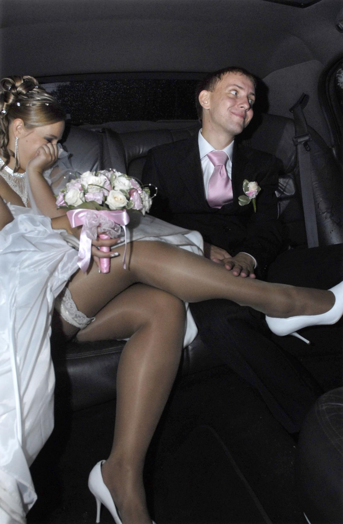Wedding candid upskirt