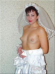 Images of Nice Bride Poses In White Stockings upskirt shot