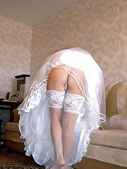 Naughty Brides upskirt photos upskirt photo