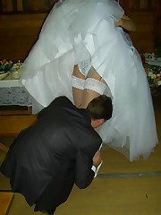 Naughty Brides upskirt photos upskirt picture