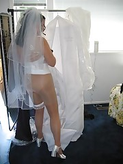 Naughty Brides upskirt photos upskirt pussy
