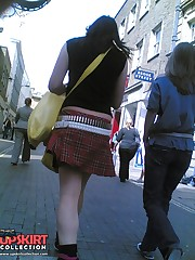 Cute teenie emo upskirted. Voyeur upskirt in public celebrity upskirt