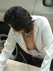 Nothing but hot downblouse tits candid upskirt