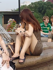 Panties of all colors in raunchy picture upskirts upskirt shot