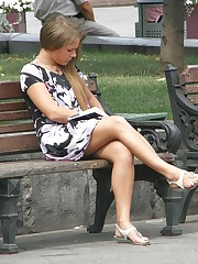Hot upskirt hidden caught on cam in public upskirt shot