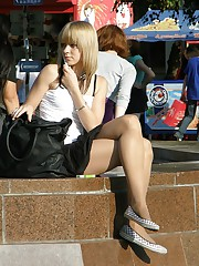 Hot upskirt hidden caught on cam in public up skirt pic