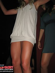 Upskirts panty shots, of girls in mini skirts upskirt photo