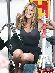 Jennifer Aniston upskirt pictures upskirt shot