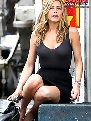 Jennifer Aniston upskirt pictures up skirt pic