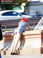 Hot and steamy street upskirts candid upskirt