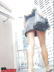 The most spectacular public upskirts upskirt no panties