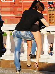 One of the hottest upskirt butts ever celebrity upskirt