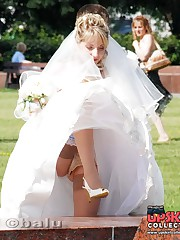Very steamy bride upskirt pics up skirt pic