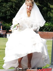 Very steamy bride upskirt pics celebrity upskirt