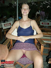 No panty upskirt just for you upskirt photo