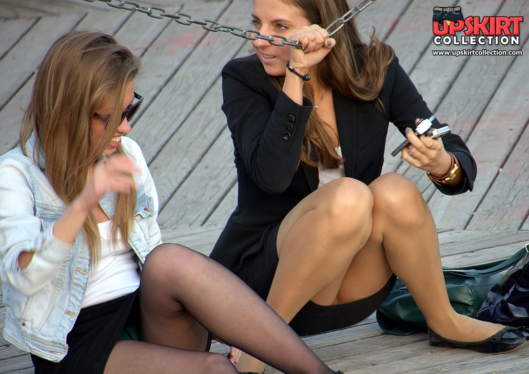 caught + pantyhose + stories