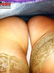 Voyeur closeups of jeans up skirts up skirt pic