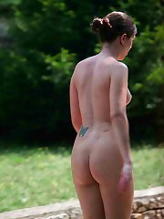Russian young nudist pics alfresco upskirt picture