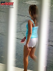 The door to the hot bikini paradise upskirt pantyhose